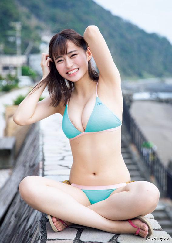 西野 七瀬 ヤング マガジン